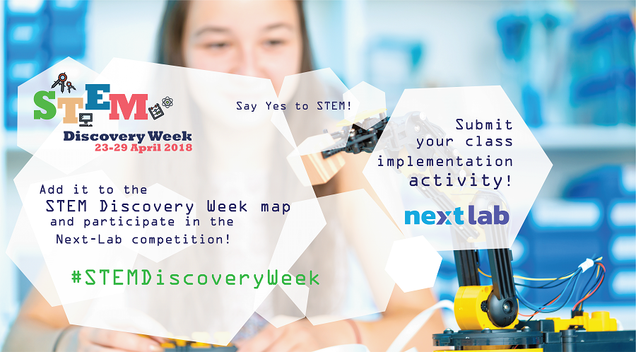 Next-Lab Stem Discovery Week 2018